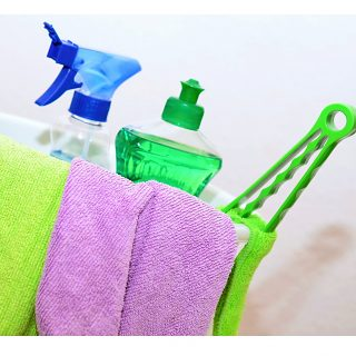 Cleaning products, detergents, and household chemicals and their health risk